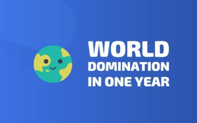 🌏 World Domination In One Year